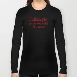 philosophy Long Sleeve T-shirt