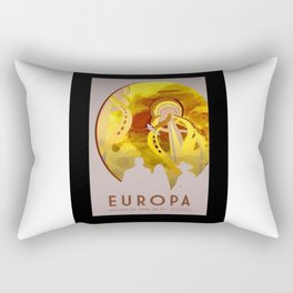 Europa - NASA Space Travel Poster (Alternative) Rectangular Pillow