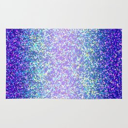 Glitter Graphic Background G105 Rug