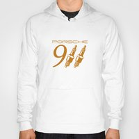 porsche Hoodies featuring Porsche 911 by Barbo's Art