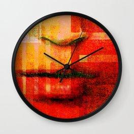 a whisper Wall Clock