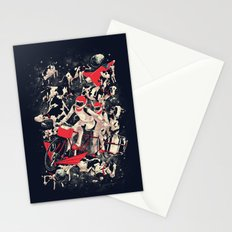 Space Dairy Farming Stationery Cards