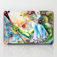 architect iPad Cases featuring Architect of Prehysterical Myth by Skinner
