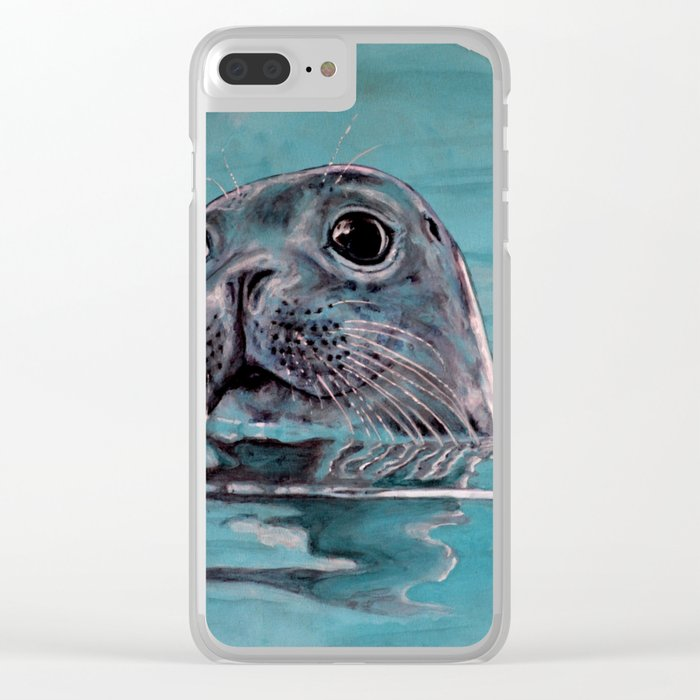 seal Clear iPhone Case