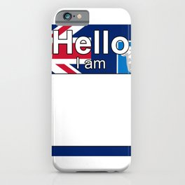 Hello I am from Falkland Islands Malvinas iPhone Case
