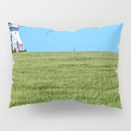 Lighthouse and the Crop Field Pillow Sham