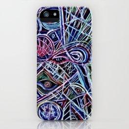 Eyes on a dancefloor iPhone Case