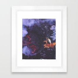 Baptism by Fire Framed Art Print
