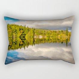 Lake Bodgynydd Snowdonia Rectangular Pillow