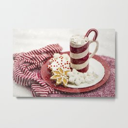 Hot chocolate Metal Print