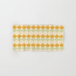 Retro Circular Pattern III Hand & Bath Towel