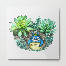 succulent plant set Metal Print