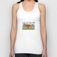 circus Tank Tops featuring circus by Dachie