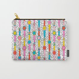 Happenin' - throwback 1980's style art print swatch watch retro vintage hipster dorm decor urban bro Carry-All Pouch