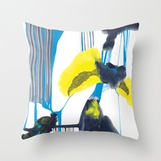 flashflood Throw Pillow