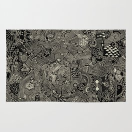 The crazy world Rug