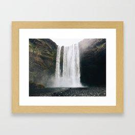 Seljalandsfoss, Iceland Framed Art Print