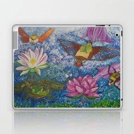 Hummingbird Moth and Frog Laptop & iPad Skin