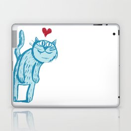 Luuuurv Cat Laptop & iPad Skin