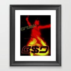 B$D Crush  Framed Art Print
