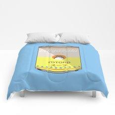 My Neighbor Toto ro - Miyazaki - Special Soup Series  Comforters