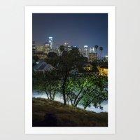 Elysian Los Angeles  Art Print