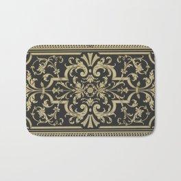 Rococo Pattern Bath Mat