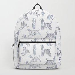 Afghan Hounds Pattern Backpack