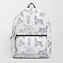 Afghan Hounds Pattern Backpack