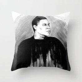 DARK COMEDIANS: Tracy Morgan Throw Pillow