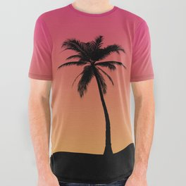 Lazy Summer All Over Graphic Tee