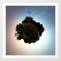Planet Earth Jr. Art Print