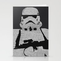 stormtrooper Stationery Cards featuring Stormtrooper by  Steve Wade ( Swade)