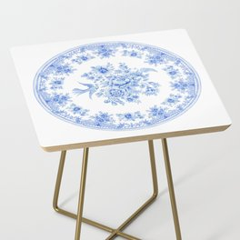 Blue asiatic pheasant Side Table