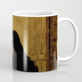 "Odilon Redon ""Le Corbeau (The Crow)"" Coffee Mug"