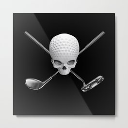 Fairway to Hell Metal Print