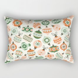 Vintage Ornaments Rectangular Pillow