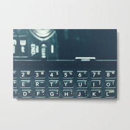 Retro Communication 2 Metal Print