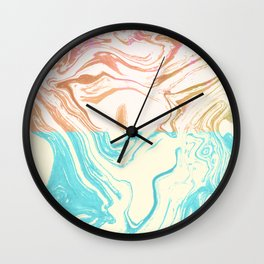 Paint Duality #society6 #decor #buyart Wall Clock