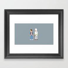 Great Scott Framed Art Print