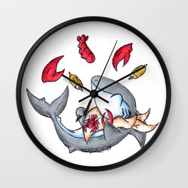Lobstah Dinnah Wall Clock