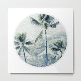 Reef palms Metal Print