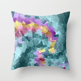 little sqares and rectangles pattern -2- Throw Pillow