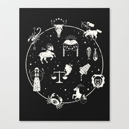 Strange Fortunes: Midnight Canvas Print
