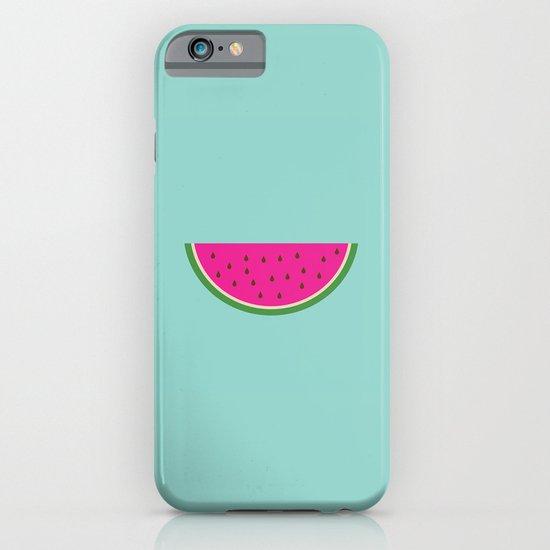 Watermelon print iPhone & iPod Case