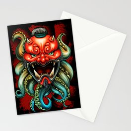 Oni Mask Summer 12 Stationery Cards