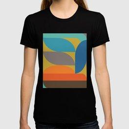 Retro Geometry 01 T-shirt