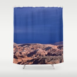 Desert Storm's Abrew'n Shower Curtain