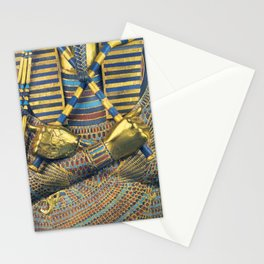 King Pharaoh Tutankhamun T-Shirt Egypt Tut Egyptian Gift Tee Halloween Costume Stationery Cards