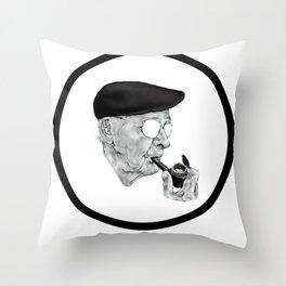A Pipeful Pleasure Throw Pillow